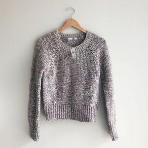 NWT GAP | Garnet Heath Alpaca Wool Knit Sweater
